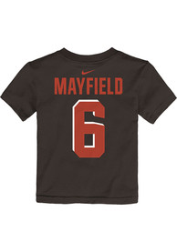 online store 29582 14931 Baker Mayfield Cleveland Browns Boys Orange Player Pride 3.0 T-Shirt