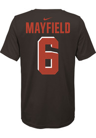 Baker Mayfield Cleveland Browns Youth Player Pride 3.0 T-Shirt - Orange