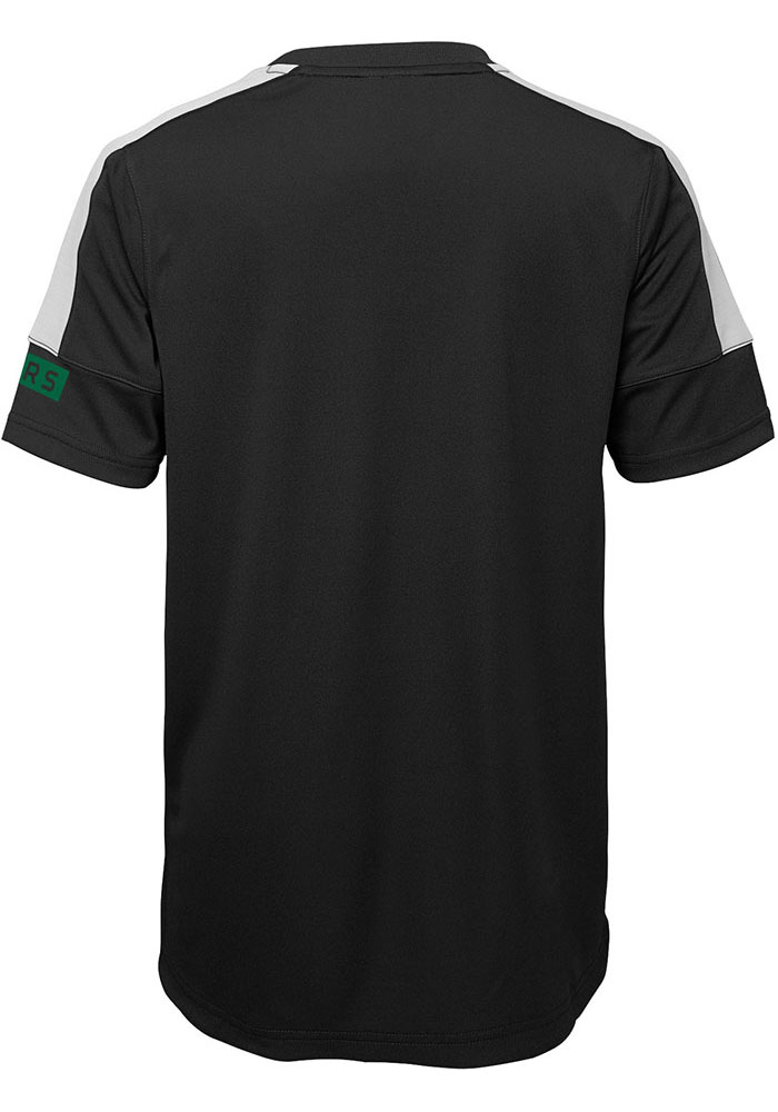 Dallas Stars Boys Black Power Short Sleeve T-Shirt - Image 2
