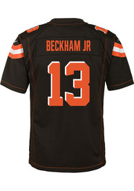 sale retailer a0498 55597 Odell Beckham Jr. Outer Stuff Cleveland Browns Youth Brown Game Jersey  Jersey