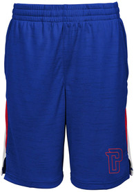 Detroit Pistons Youth Content Shorts - Blue