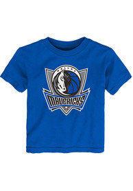 Dallas Mavericks Infant Primary Logo T-Shirt - Blue