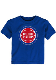 Detroit Pistons Infant Primary Logo T-Shirt - Blue
