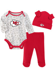 Kansas City Chiefs Infant Greatest Lil Player Top and Bottom - Red