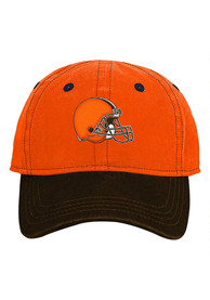 Cleveland Browns Baby Chainstitch Slouch Adjustable Hat - Brown