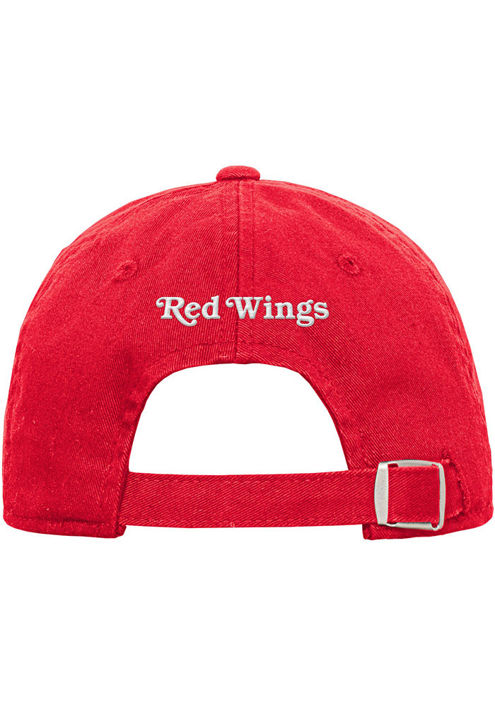 Detroit Red Wings Red Slouch Youth Adjustable Hat - Image 2