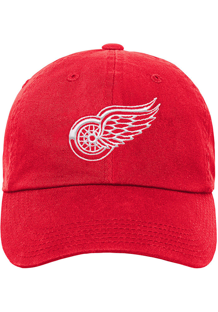 Detroit Red Wings Red Slouch Youth Adjustable Hat - Image 3