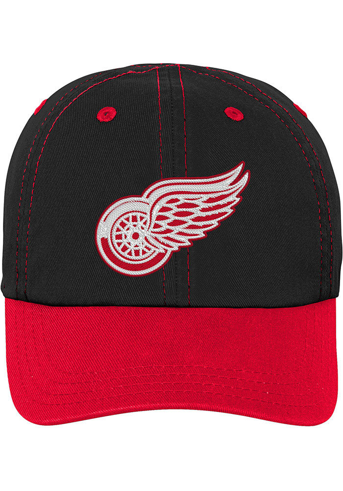Detroit Red Wings Baby Chainstitch Slouch Adjustable Hat - Red - Image 1