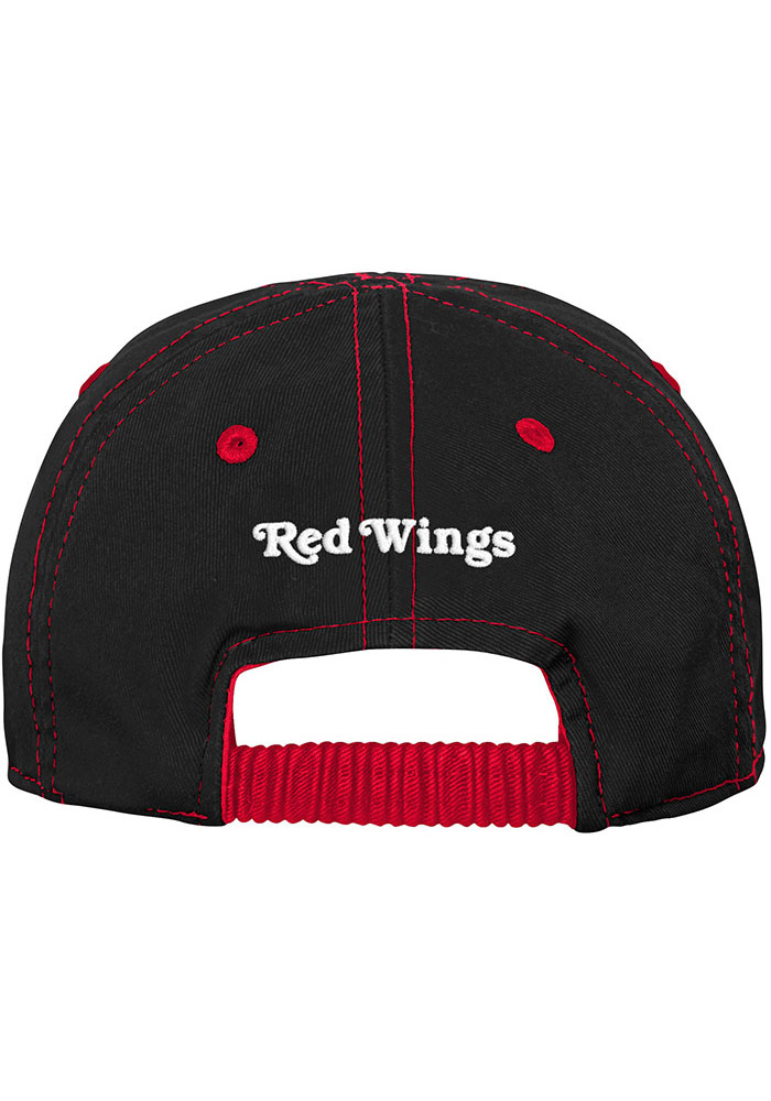 Detroit Red Wings Baby Chainstitch Slouch Adjustable Hat - Red - Image 2