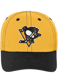 Pittsburgh Penguins Baby Chainstitch Slouch Adjustable Hat - Black