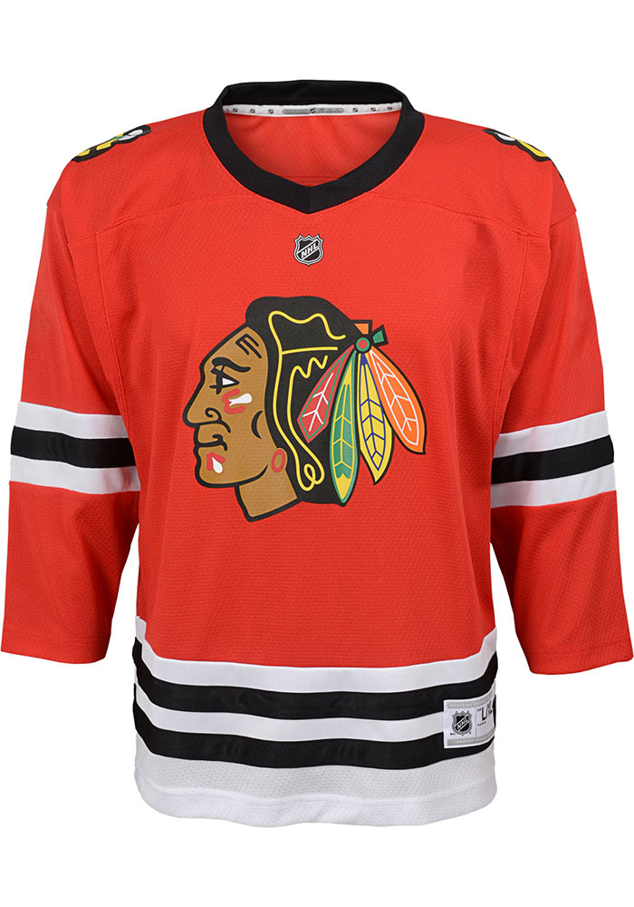 Chicago Blackhawks Boys Red 2019 Home Hockey Jersey - Image 1