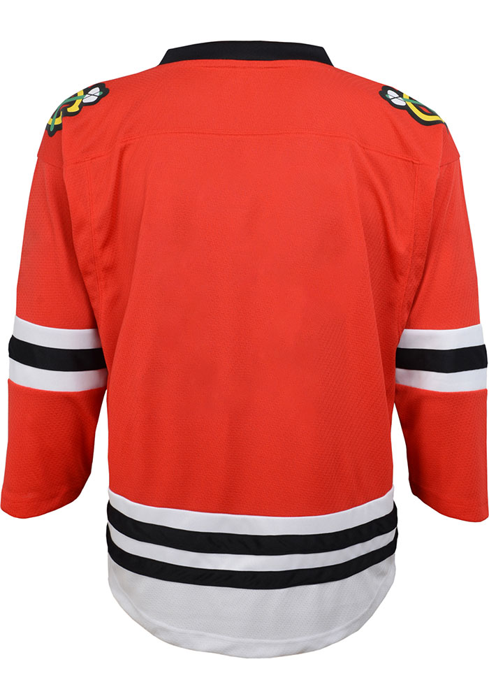 Chicago Blackhawks Boys Red 2019 Home Hockey Jersey - Image 2