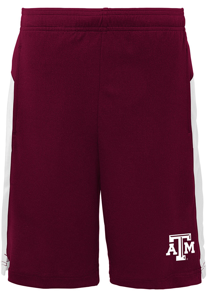 Texas A&M Aggies Youth Maroon Grand Shorts - Image 1