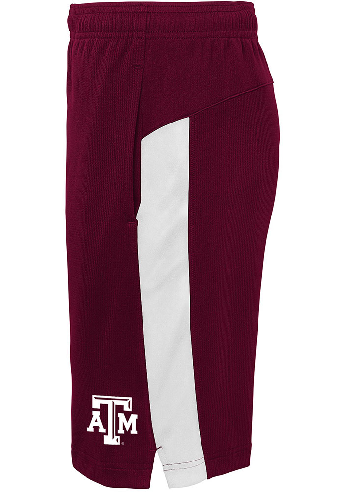 Texas A&M Aggies Youth Maroon Grand Shorts - Image 2