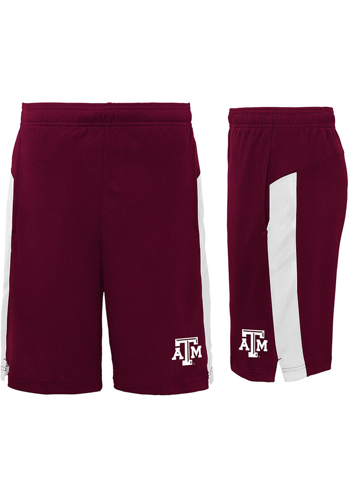 Texas A&M Aggies Youth Maroon Grand Shorts - Image 3