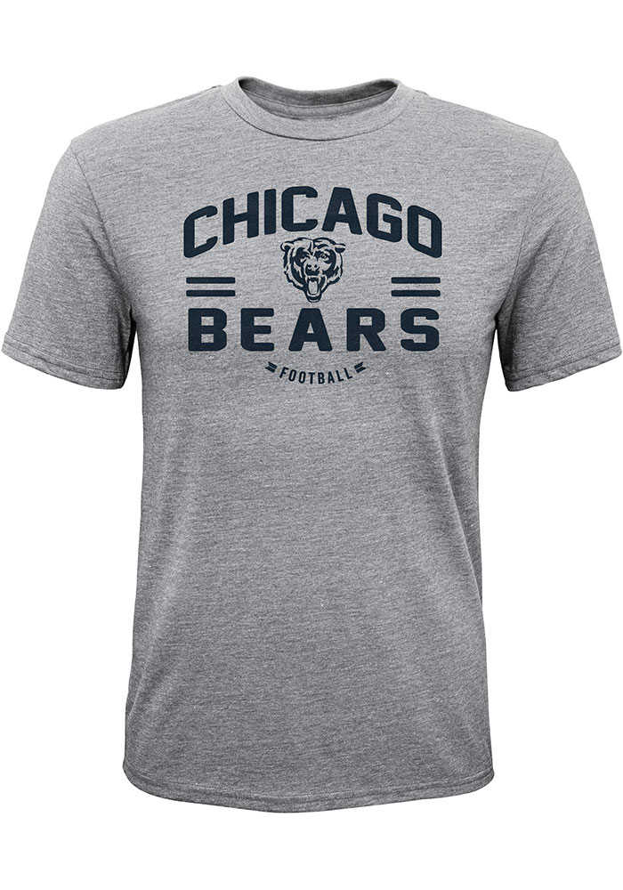 Chicago Bears Youth Heritage Fashion T-Shirt - Grey