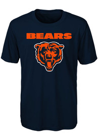 Chicago Bears Youth Goal Line Stand T-Shirt - Navy Blue