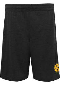 Pittsburgh Steelers Youth Content Shorts - Black