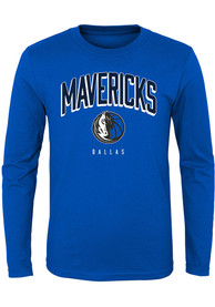 Dallas Mavericks Youth Dunked T-Shirt - Blue