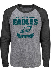 Philadelphia Eagles Youth Equipped T-Shirt - Grey