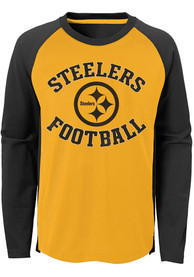 Pittsburgh Steelers Youth Gold Air Raid T-Shirt