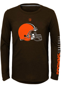 Cleveland Browns Youth Trainer T-Shirt - Brown