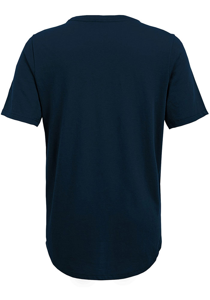 Chicago Bears Youth Navy Blue Certified Short Sleeve T-Shirt - Image 2