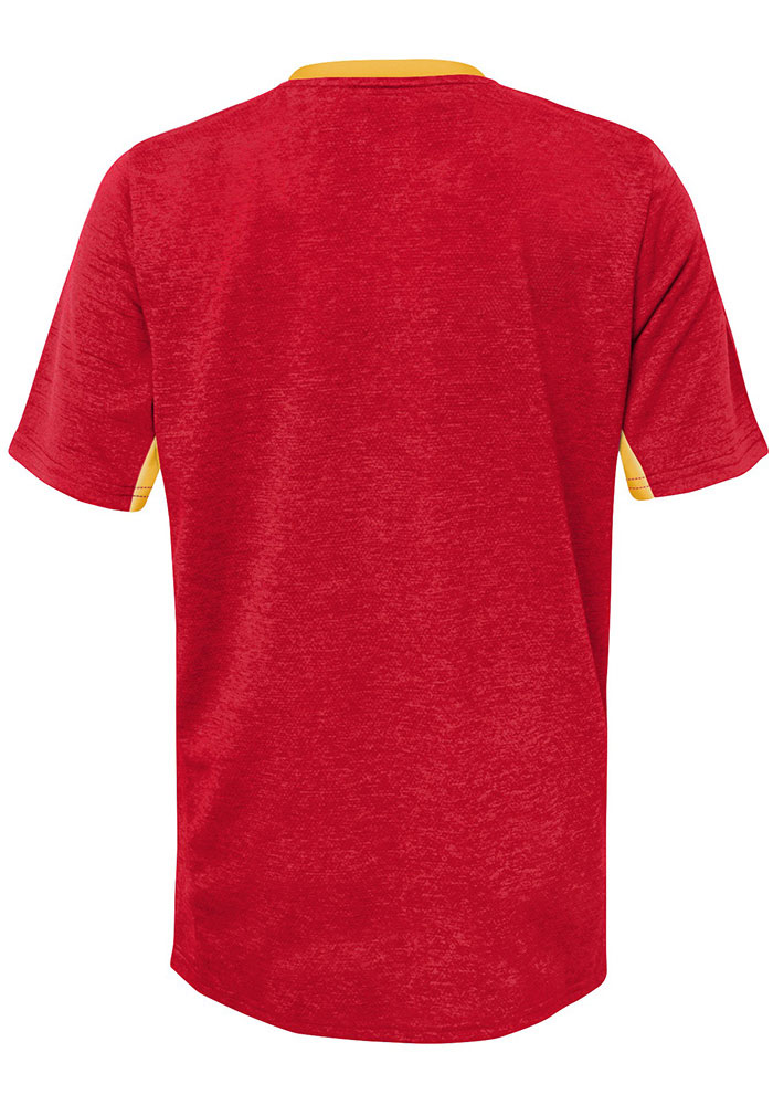 Kansas City Chiefs Youth Red Static Short Sleeve T-Shirt - Image 2