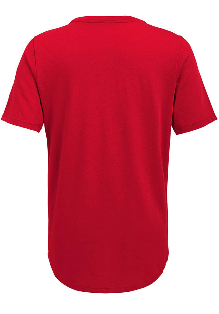 Kansas City Chiefs Youth Red Certified Short Sleeve T-Shirt - Image 2