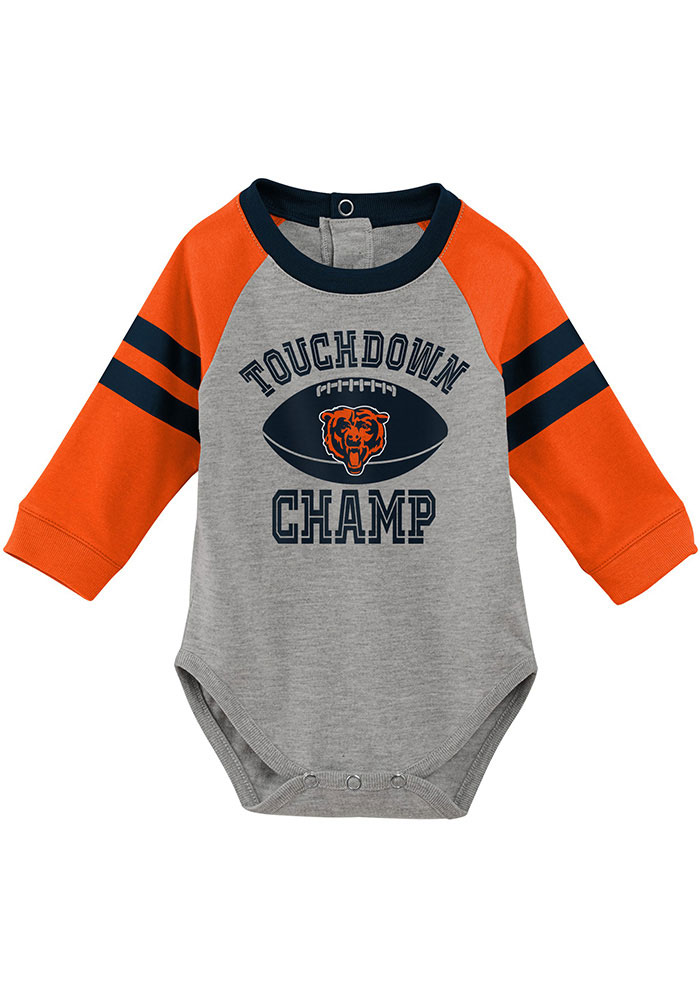 Chicago Bears Infant Navy Blue Touchdown Set Top and Bottom - Image 2