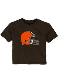 Cleveland Browns Infant Primary Logo T-Shirt - Brown