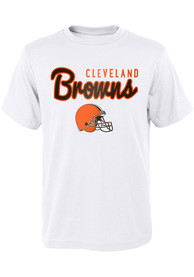 Cleveland Browns Youth Big Game T-Shirt - White