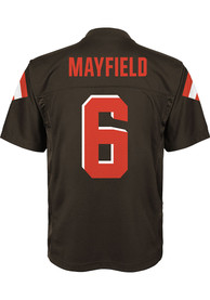 Baker Mayfield Cleveland Browns Youth Outer Stuff Mid-Tier Football Jersey - Brown