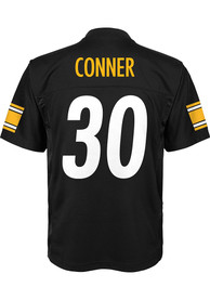 James Conner Pittsburgh Steelers Youth Nike Mid-Tier Football Jersey - Black