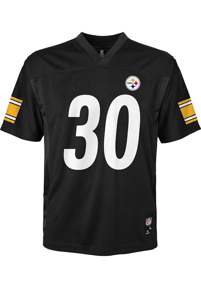 James Conner Outer Stuff Pittsburgh Steelers Youth Black Mid-Tier Jersey Football Jersey - Image 2
