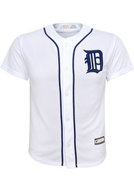 Detroit Tigers Youth 2019 Home Baseball Jersey - White