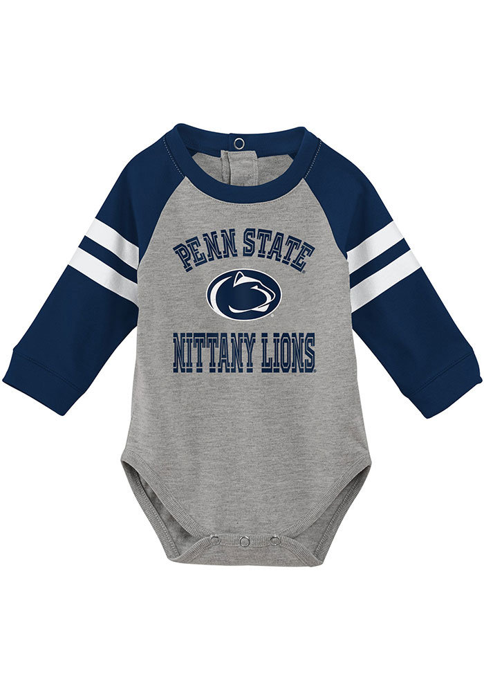 Penn State Nittany Lions Infant Navy Blue Touchdown Set Top and Bottom - Image 2