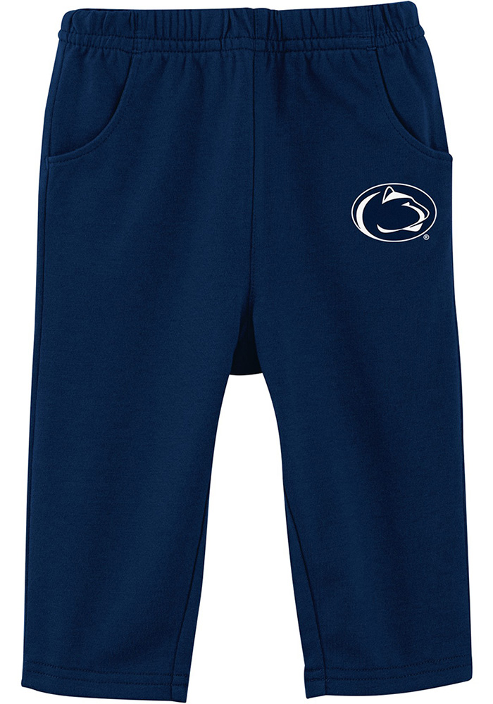 Penn State Nittany Lions Infant Navy Blue Touchdown Set Top and Bottom - Image 3
