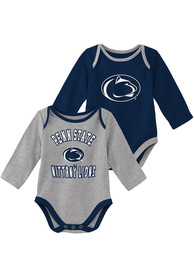 Penn State Nittany Lions Baby Trophy One Piece - Navy Blue