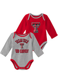 Texas Tech Red Raiders Baby Trophy One Piece - Red