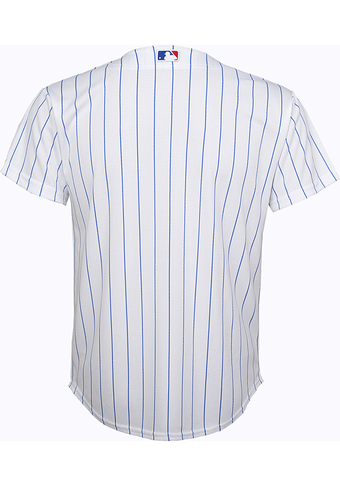 Chicago Cubs Boys White 2019 Home Baseball Jersey - Image 2