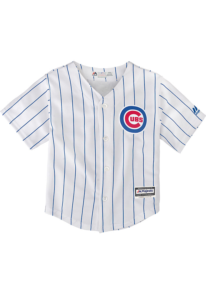 Chicago Cubs Baby White 2019 Home Jersey Baseball Jersey - Image 1