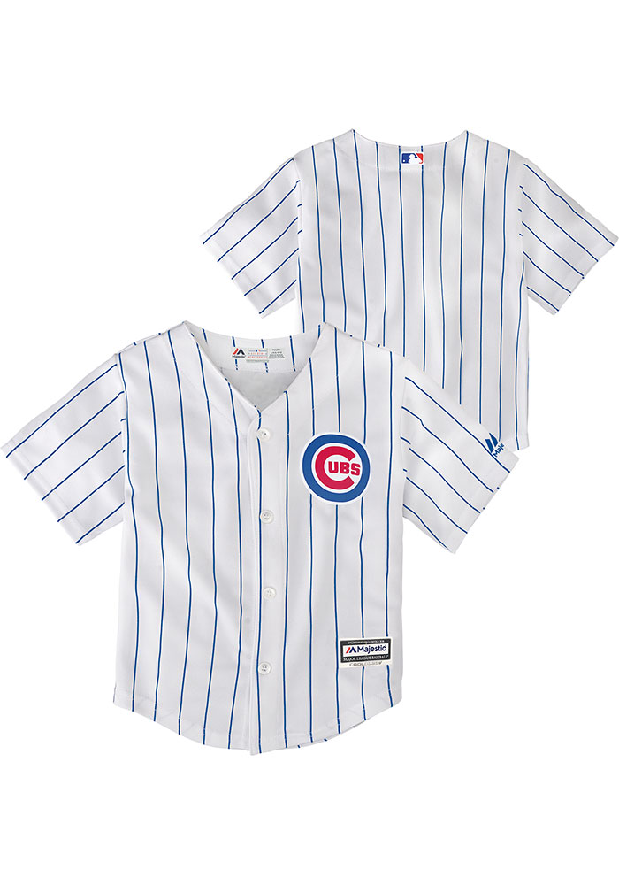 Chicago Cubs Baby White 2019 Home Jersey Baseball Jersey - Image 3