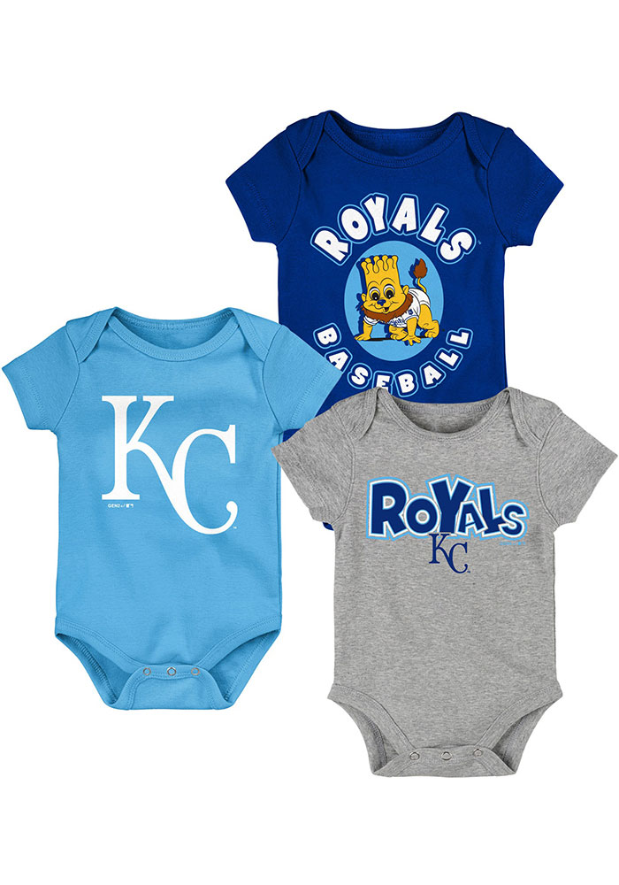 Kansas City Royals Baby Blue Everyday Fan One Piece - Image 1