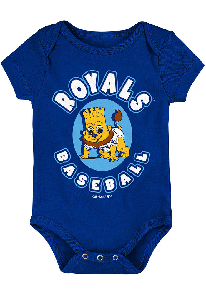 Kansas City Royals Baby Blue Everyday Fan One Piece - Image 2