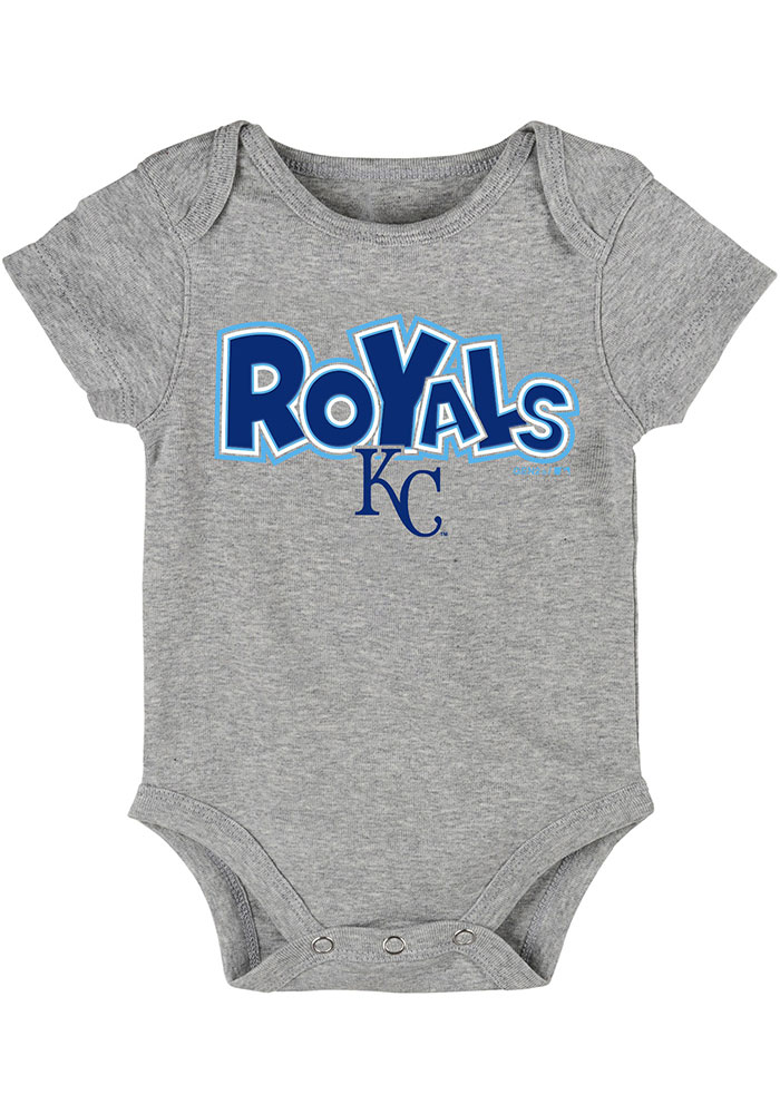 Kansas City Royals Baby Blue Everyday Fan One Piece - Image 3
