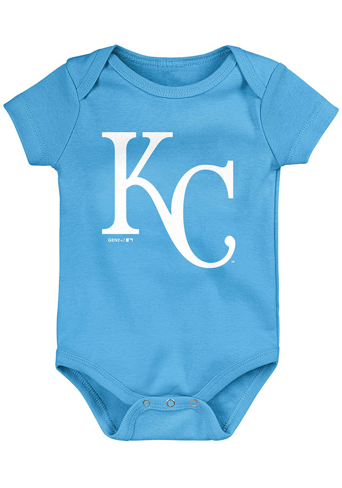Kansas City Royals Baby Blue Everyday Fan One Piece - Image 4