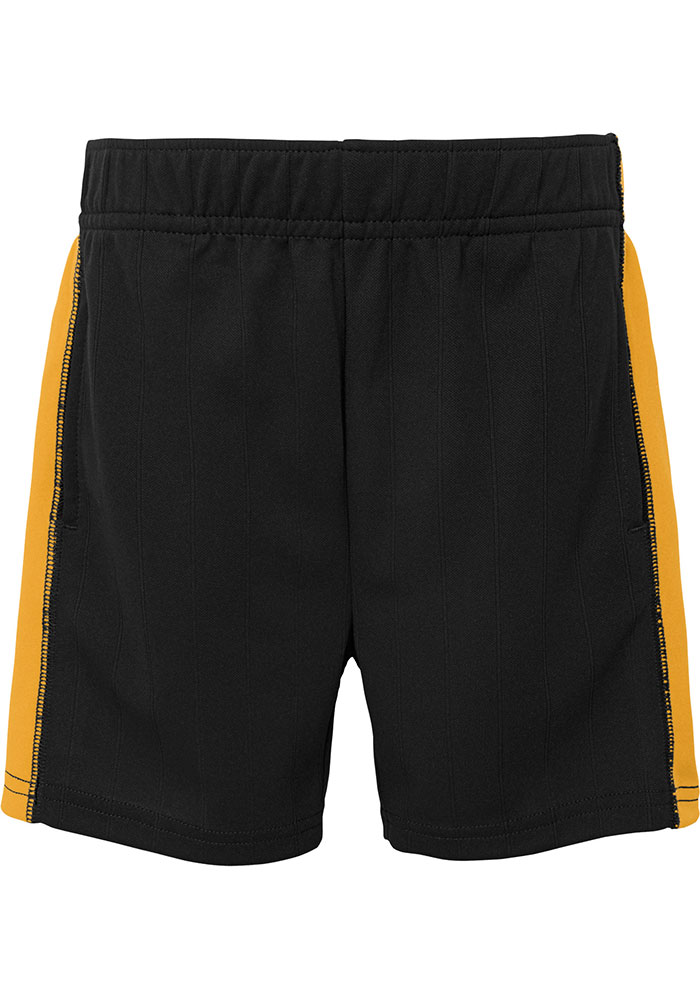 Pittsburgh Pirates Toddler Black Play Strong Set Top and Bottom - Image 3