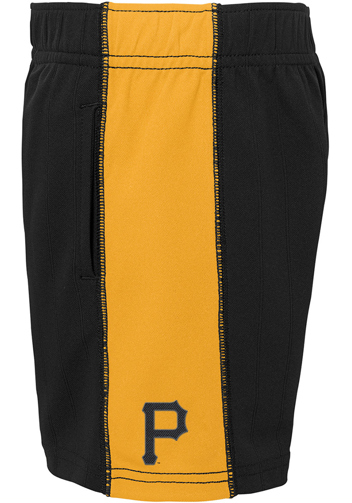 Pittsburgh Pirates Toddler Black Play Strong Set Top and Bottom - Image 4