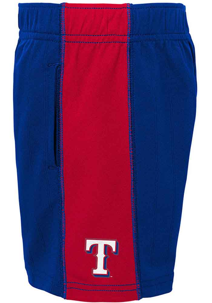 Texas Rangers Toddler Blue Play Strong Set Top and Bottom - Image 4